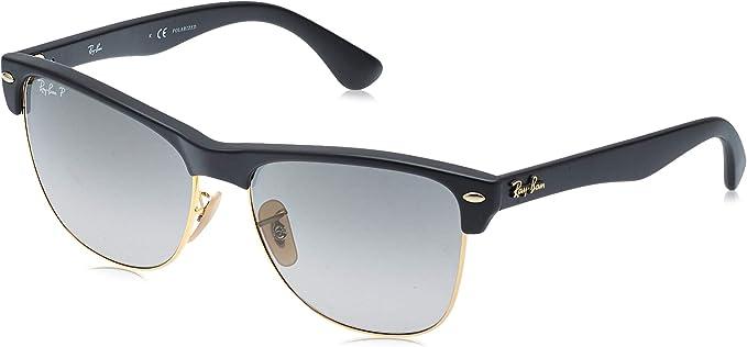 Ray-Ban 4175 Gafas de sol, Demi Gloss Black, 57 para Hombre ...