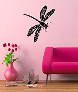 Dragonfly Cute Nature Theme Wall Decal Vinyl Home Decoration - 20