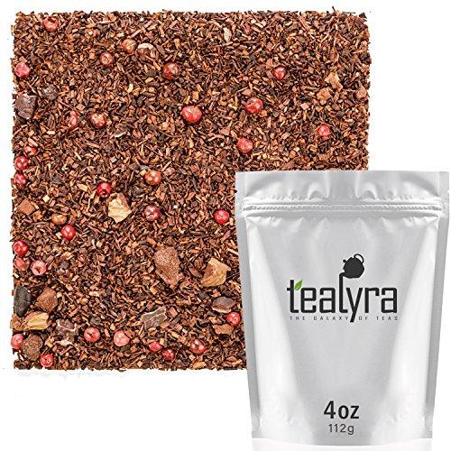 Tealyra - Chocolate Monkey - Cocoa Rooibos Tea - Banana Chips - Loose Leaf Tea - Red Bush Tea - High in Antioxidants - Relaxing - Caffeine Free - Organic -