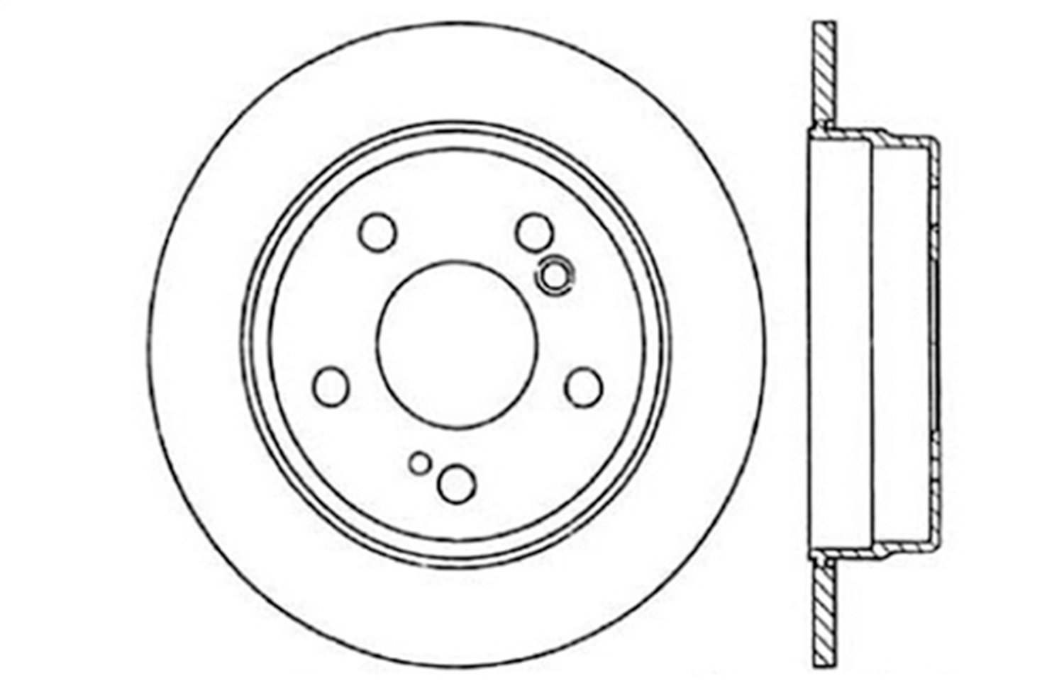Brake Rotor 128.35014CL StopTech