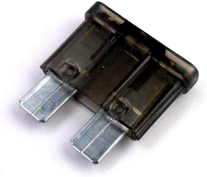 10x Sicherung Standard Flachsicherung Autosicherung 1 A Amp Schwarz Für Kfz Elektronik Und Hobby Kostenloser Versand Baumarkt
