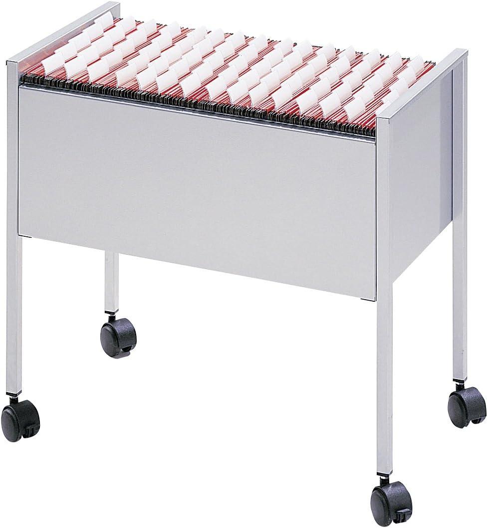 Economy 655x592x405 mm DURABLE 309601 capacit/à 80 cartelle f.to Folio carrello per cartelle sospese 80 Folio nero