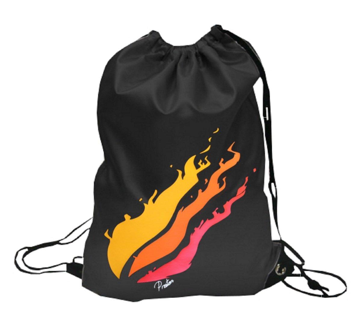 000552 PrestonPlayz Youtuber Logo, Drawstring Backpack Rucksack School Bag