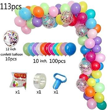 Amazon.com: Kit de arcos y guirnaldas de globos de bricolaje ...