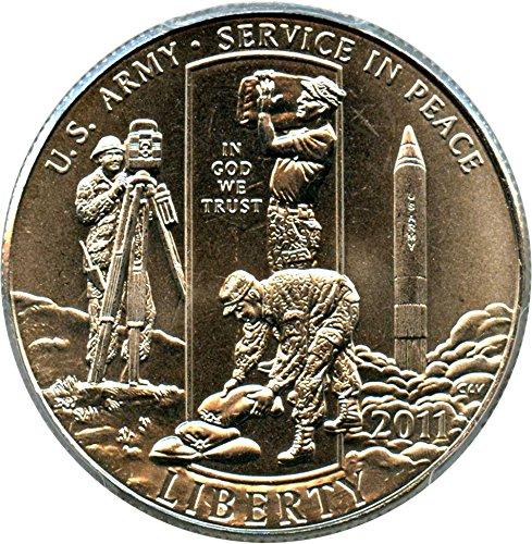 2011 D 50c Modern Commems United States Army Half Dollar MS69 PCGS