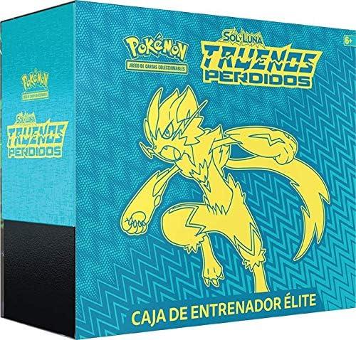 Pokemon JCC Trueno Perdidos Caja De Entrenador Elite, Color ...