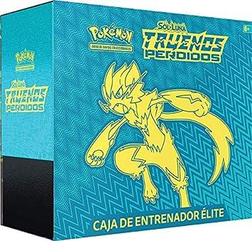 Pokemon JCC- Trueno Perdidos Caja De Entrenador Elite, Color ...