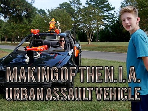 Making Of The N. I. A. Urban Assault Vehicle