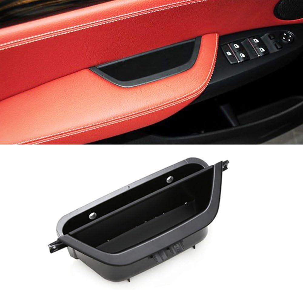 Jaronx for BMW X3 X4 Door Armrest Storage Box, Driver Side Door Storage Compartment Replacement Door Handle Armrest Container Phone Key Holder(Fits:BMW X3 F25 2010-2016,BMW X4 F26 2014-2017)