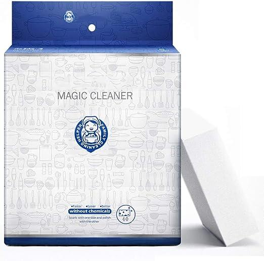 10 gomas de borrar Nano Magic, cepillo de limpieza, esponja
