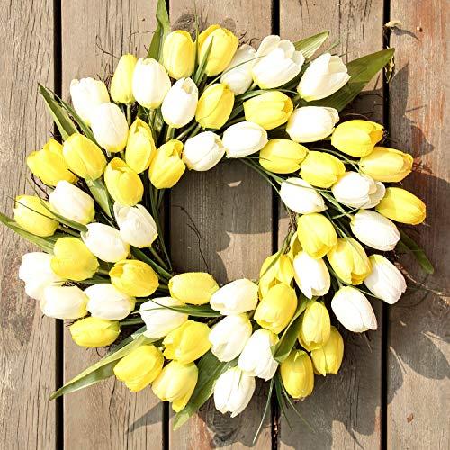 Artificial Door HangingLavender Flower Wreath Wall Garland Home Wedding Deco