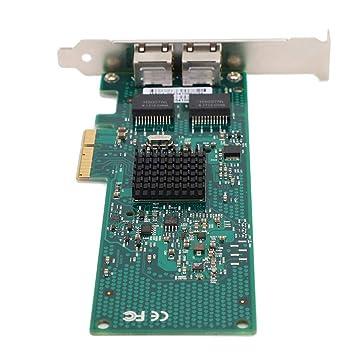 Tarjeta de Red Gigabit PCI-E X4 10/100 / 1000Mbps 2 * RJ45 ...