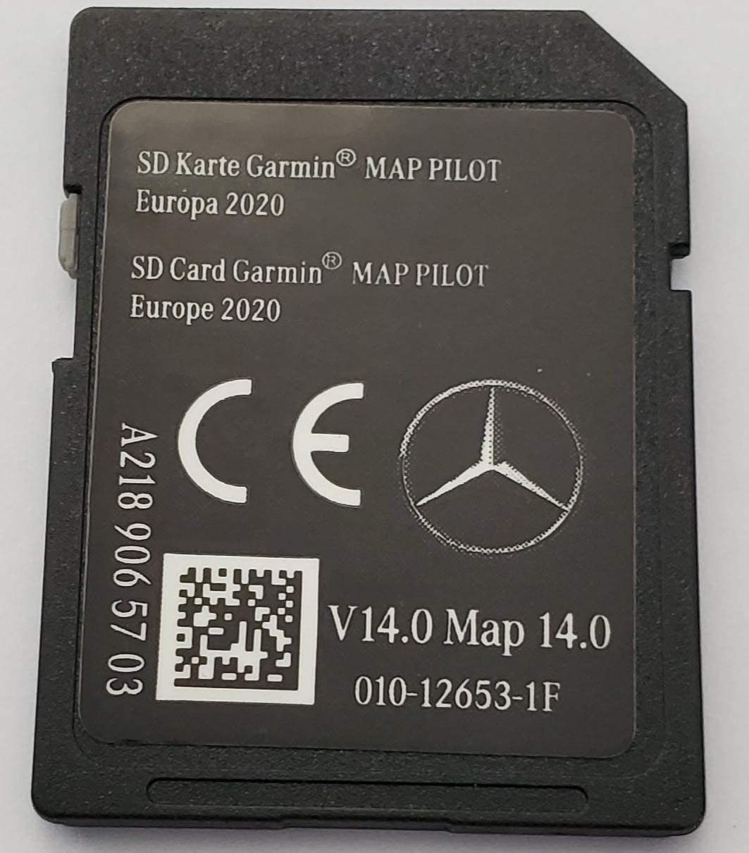 Tarjeta SD GPS Mercedes Garmin Map Pilot Europe 2020 - STAR1 - v14 - A2189065703
