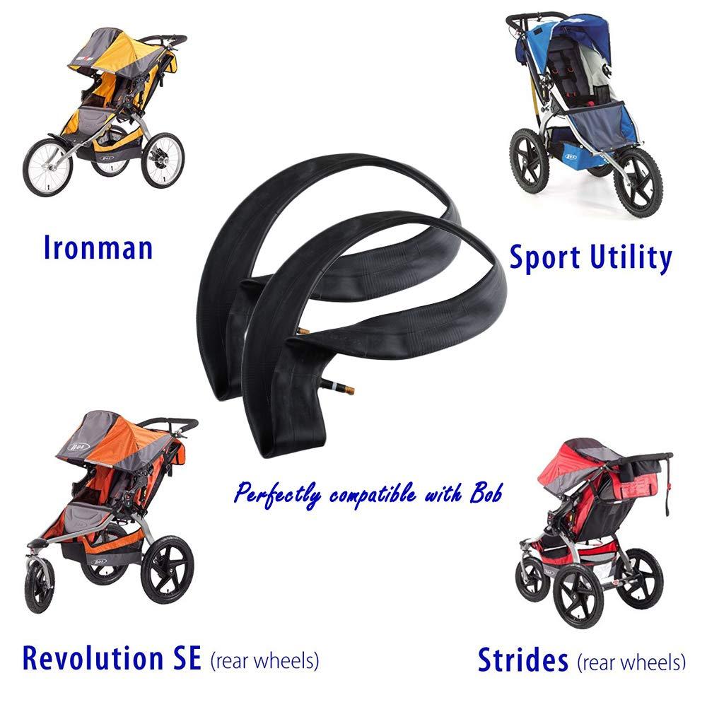 Wadoy Stroller 16 Back Wheel Replacement Inner Tubes for Bob Revolution Se//Pro//Flex//Su//Ironman-Rear Tire Tube 16 X 1.75//2.15