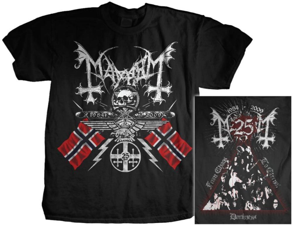 Mayhem - 25 Years/Coat Of Arms T-Shirt Size M