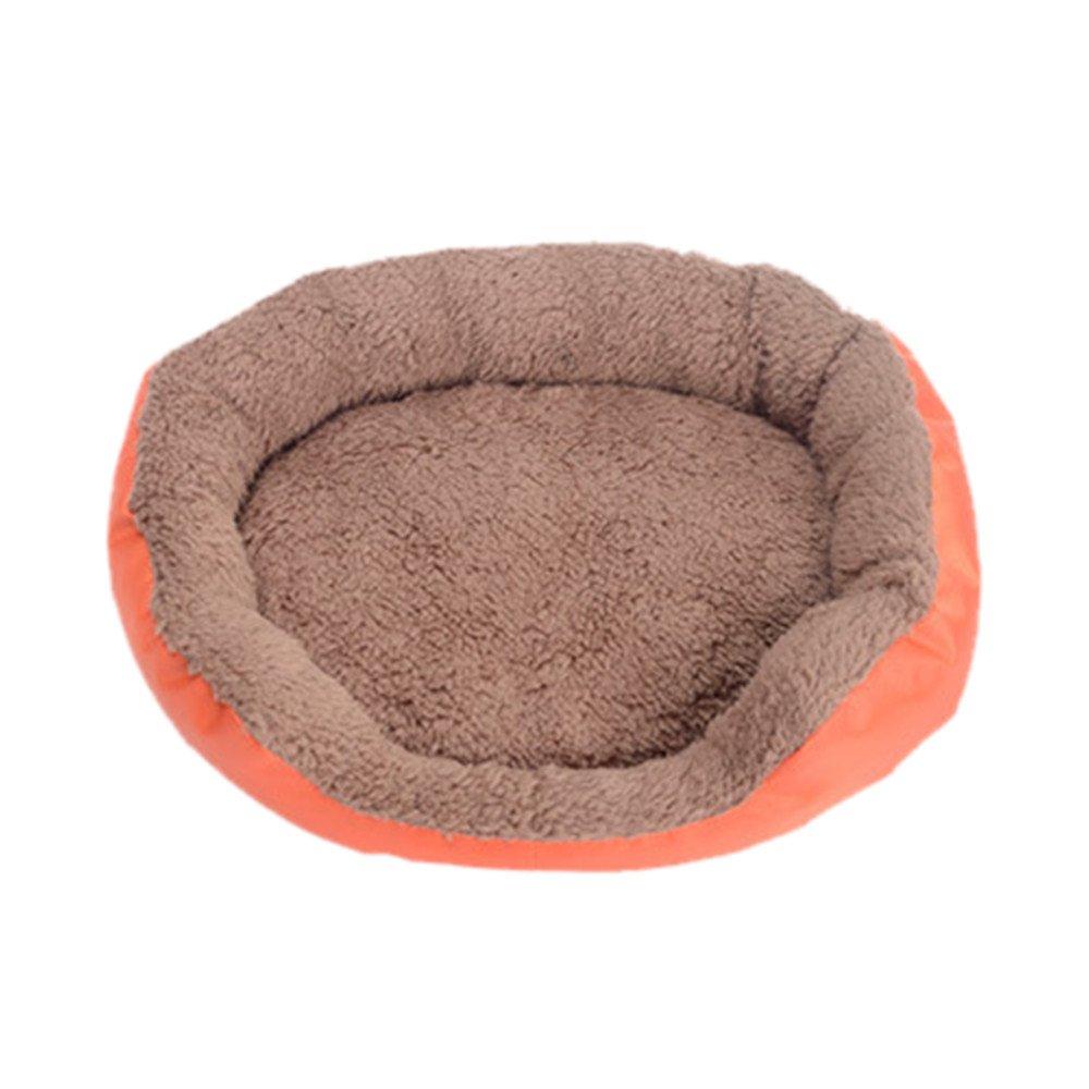 Smdoxi_pet Dog Bed Pet Bed Pet Kennel Nest Pet Cave Cat Bed House Puppy Pet Dog Cat Fleece Mat Cozy Warm Bed Flannel Soft Cotten House Nest Pad