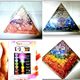Jet Exquisite Three (3) RCA Lapis Lazuli Orgone Chakra Layer Orgone Pyramid 1 each Best Offer Free Booklet Jet International Crystal Therapy Crystal Gemstones Copper Metal