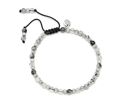 Lola Rose Portobello Black Rutilated Quartz Bracelet hmGfMTC