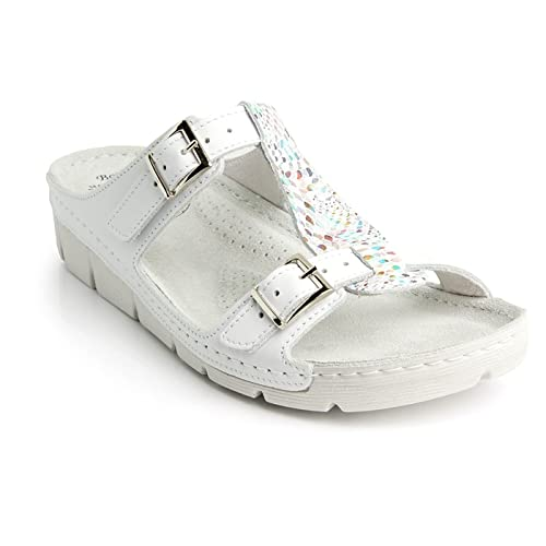 d9bfdbd5ff72 Batz Gaudi Light and Flexible Handmade High Quality Leather Slip-on Womens  Ladies Sandals Mule Clogs Slippers Shoes  Amazon.co.uk  Shoes   Bags