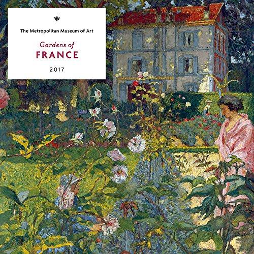 Gardens of France 2017 Wall Calendar