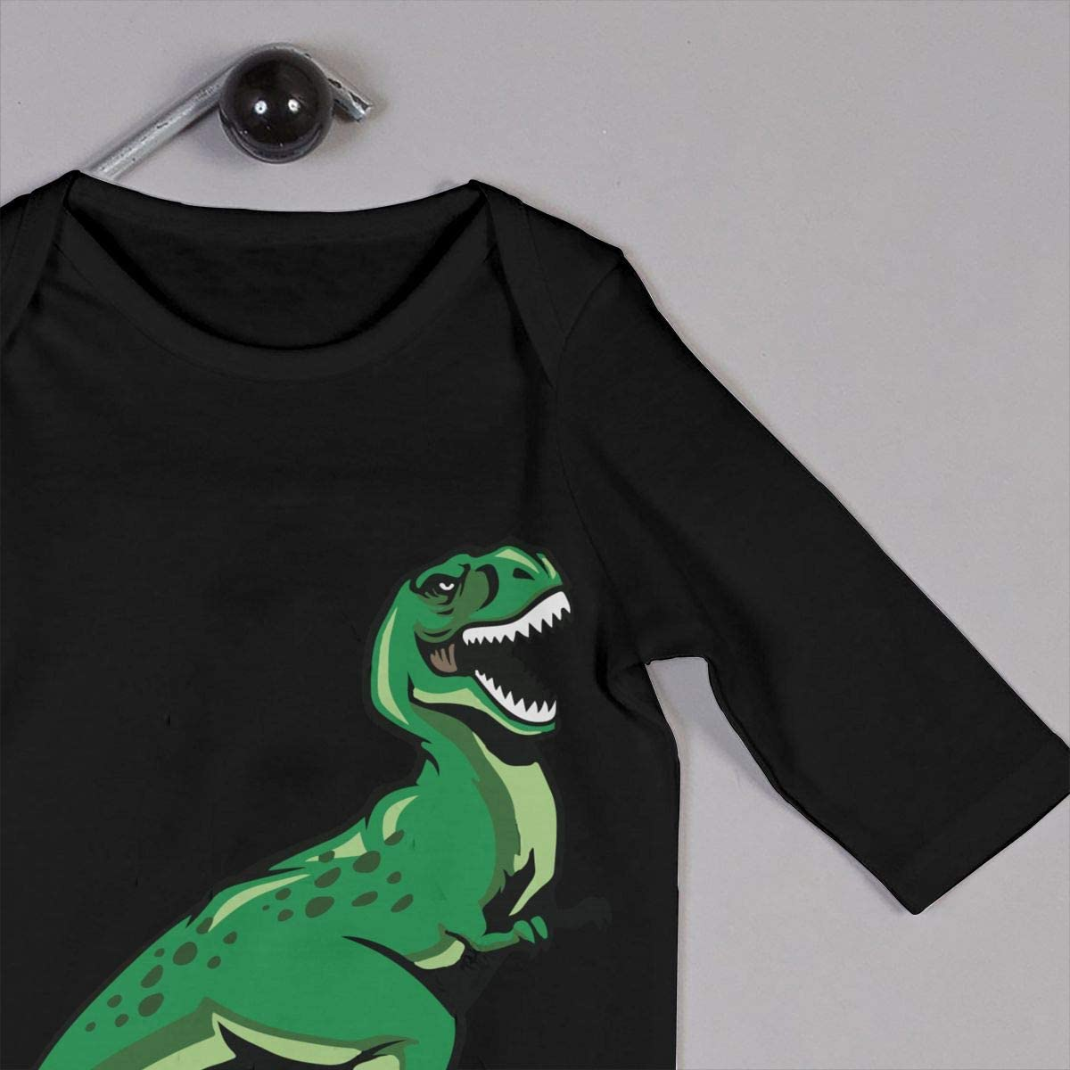 Toddler Baby Boy Romper Jumpsuit Trex Dinosaur Organic One-Piece Kid Pajamas Clothes
