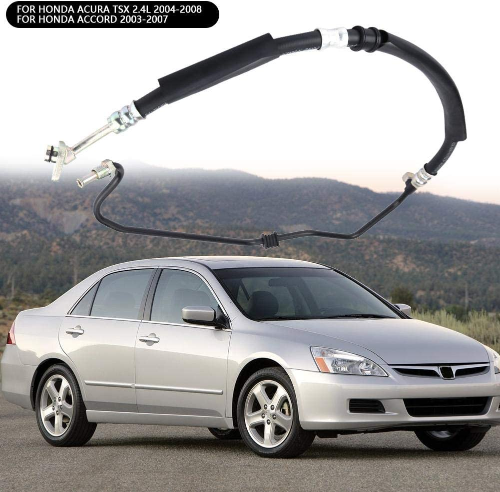 Cuque Pressure Fuel Hose 53713SDAA52 Auto Power Steering Pressure Fuel Line Hose 53713SDCA02 Car Pressure Oil Pipe 53713-SDC-A02 Fits for Honda Acura TSX 2004-2008 Accord 2003-2007