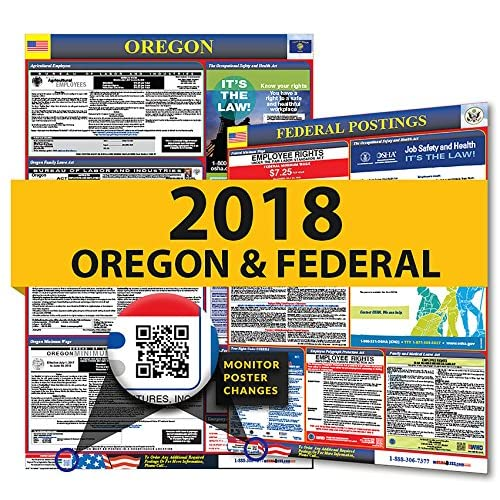 2018 Oregon State & Federal Labor Law Posters for Workplace Compliance