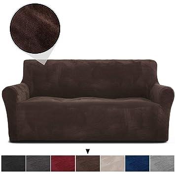 Amazon.com: RHF - Funda de sofá de terciopelo, funda de sofá ...