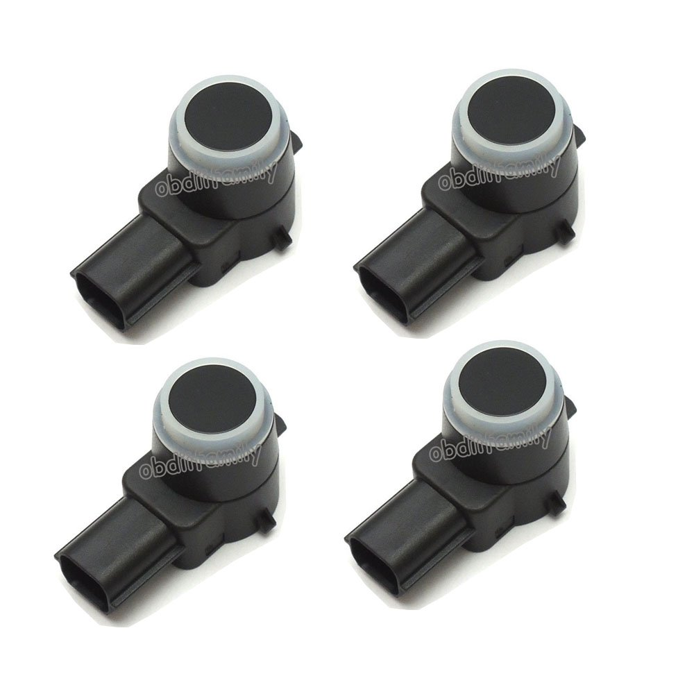 (4PCS/Lot) AUTOS-FAMILY Auto Parts 25961404 Parking Sensor PDC Sensor Parking Distance Control Sensor Fits most 2004-2016 GM Chevrolet Cadillac GMC full size trucks & SUV's