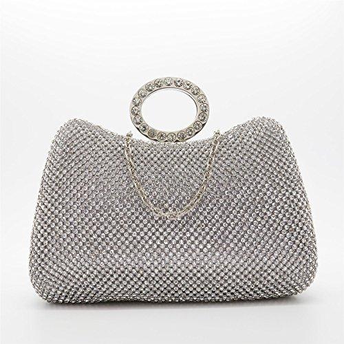 London Footwear - Bolsa Mujer plata