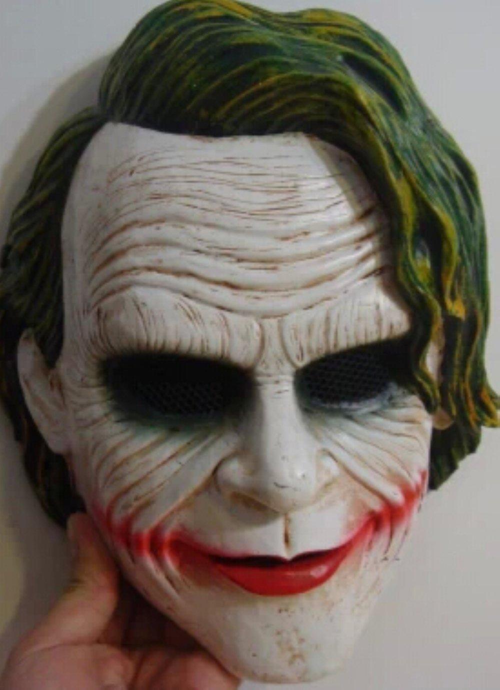 Helen Ou@Batman Clown Mask Cs Horror Masks Dark Night Knight Joker Terrorist