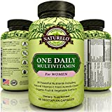 NATURELO One Daily Multivitamin for Women - Best Vitamins for Hair, Skin, and Nails - One A Day - 60 Capsules | 2 Month Supply