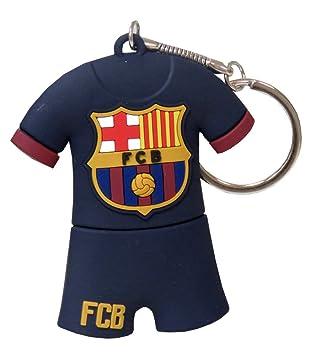 Futbol Club Barcelona Pendrive Rubber con Forma de Camiseta (CYP Imports USB-03-BC): Amazon.es: Juguetes y juegos