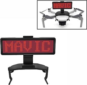 Opinión sobre STARTRC Mavic Mini/Mini 2 LED Display, Love Display Artifact Capaz de editar libremente Varios Idiomas para dji Mavic Mini/Mini 2 Accesorios de Drones