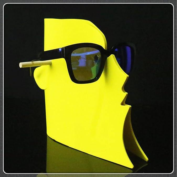 Sharplace Visage Motif Présentoire pour Lunettes De Soleil en Mousse EVA Durable Facile à Installer Stockage à Domicile - Rose FA9Zxf