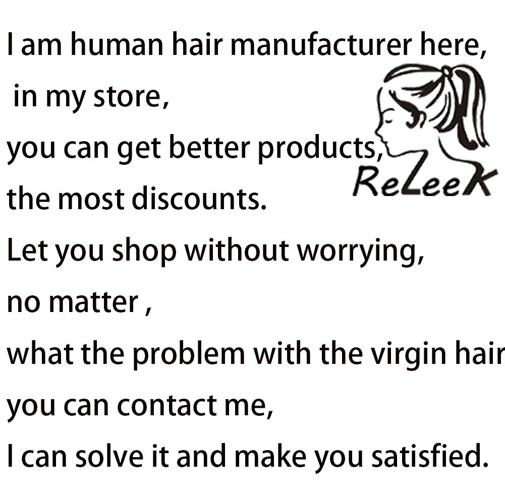 Releek Deep Wave lace Front Wigs with Baby Hair Pre Plucked 100% Unprocessed Brazilian Deep Wave Lace Front Wigs Human Hair 150% Density Full End Lace Wigs Natural Color for Women by Releek (Image #7)