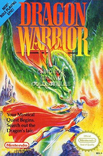 Dragon Quest CGC Huge Poster Glossy Finish Nintendo NES Famicon - DQX030 (16
