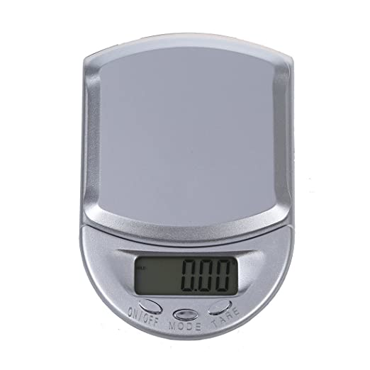 SODIAL(R) 100g/0.01g Bascula Digital de Precision Balanza Joyeria Portatil con 2 Bateria: Amazon.es: Relojes