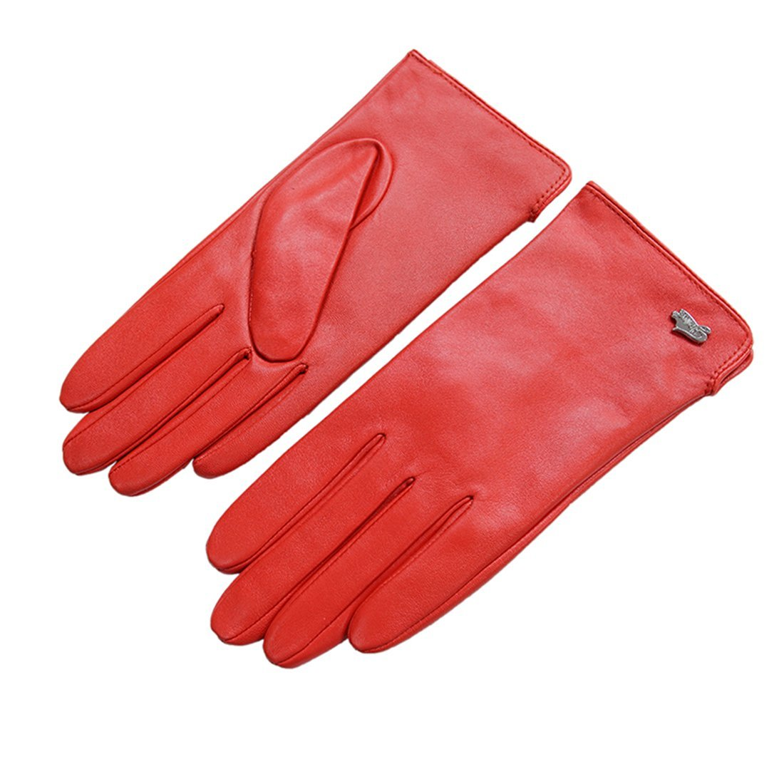 Women Leather Gloves - Nappaglo Warm Lining Winter Leather Lambskin Gloves NAP0074PI0