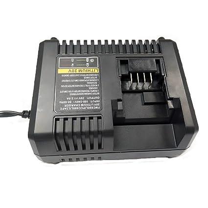 3A Para Black & Decker 10.8V-20V Cargador de batería de ion ...
