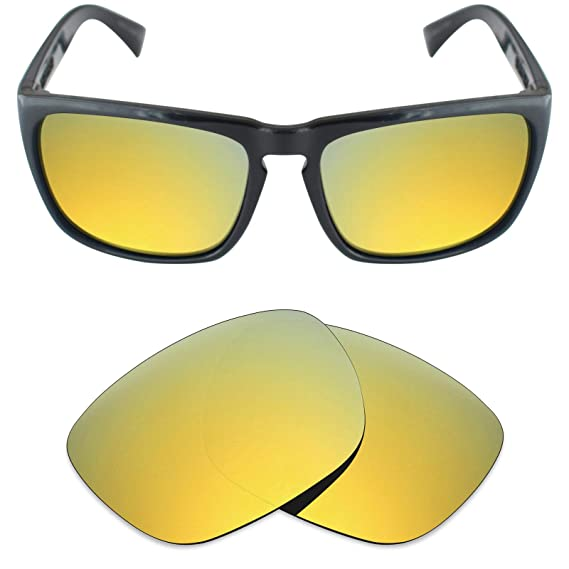 ae1adea59db Mryok Polarized Replacement Lenses for Electric Knoxville XL - 24K Gold