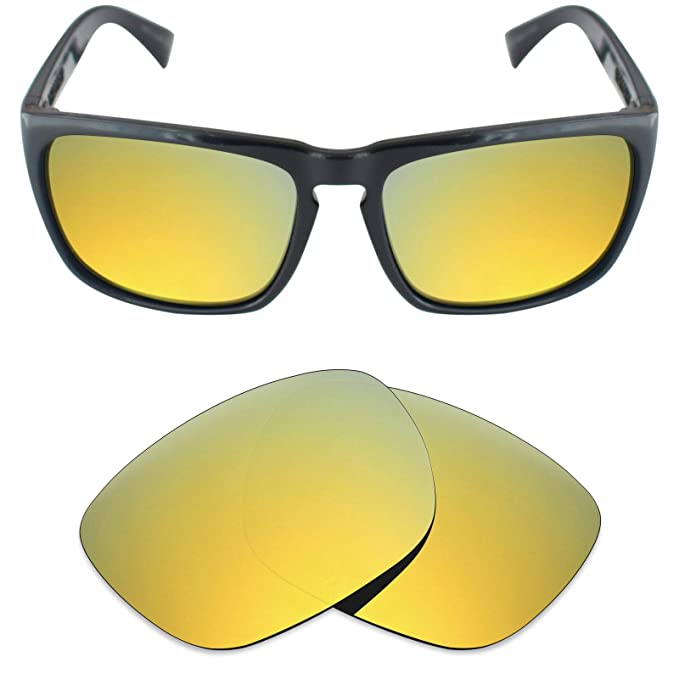 9637bbdca4 Mryok Polarized Replacement Lenses for Electric Knoxville XL - 24K Gold