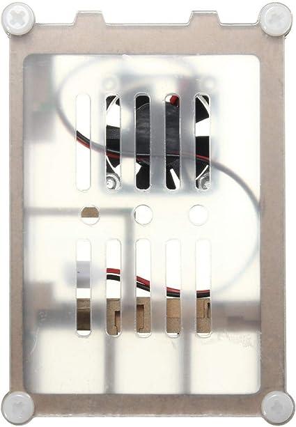 ZhanPing Caja de Caja de acrílico Colorida con Kit de Ventilador ...