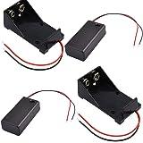 4Pcs 9V Battery Case,2Pack 9V Battery Box with