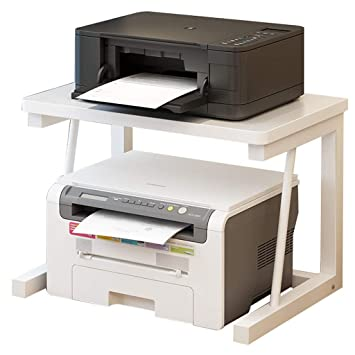 Amazon.com: Llq2019 Printer Shelf Mobile Printer Stand Desk ...