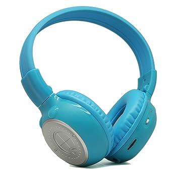Power Acoustik HP-K2B Azul Circumaural Diadema auricular - Auriculares (Circumaural, Diadema,