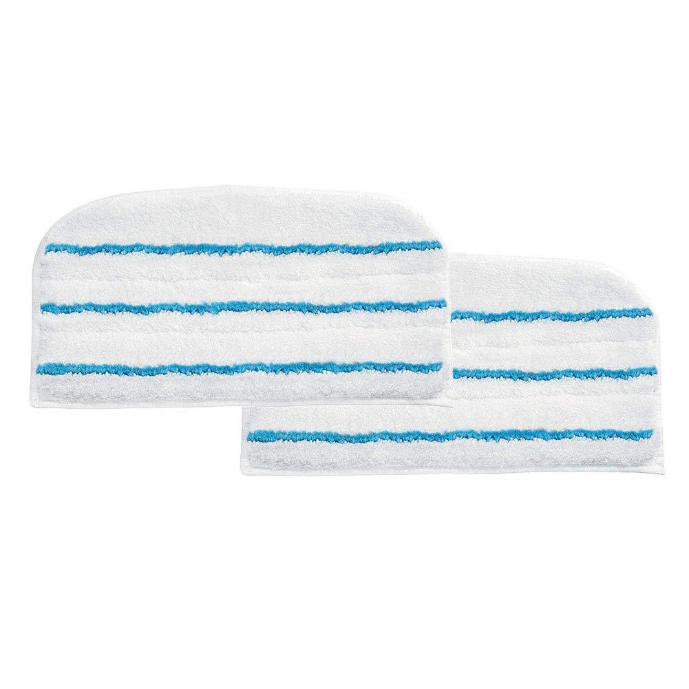 Decker FSM1620//1630 LIRR 2 Packs Panno mop,microfibra Steam mop Clean refill di tamponi di pulizia panno tappetino per Black