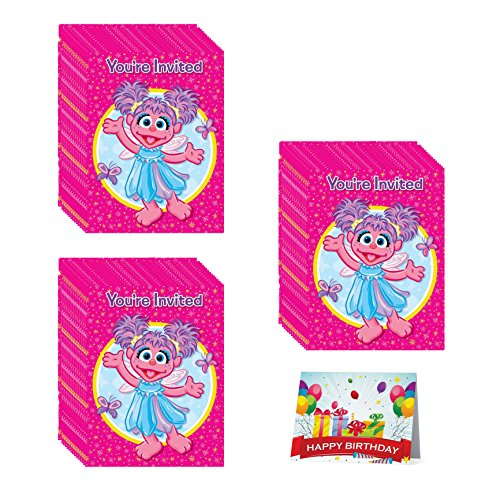 Abby Cadabby Birthday Party Invitations Bundle Pack of 24 ()