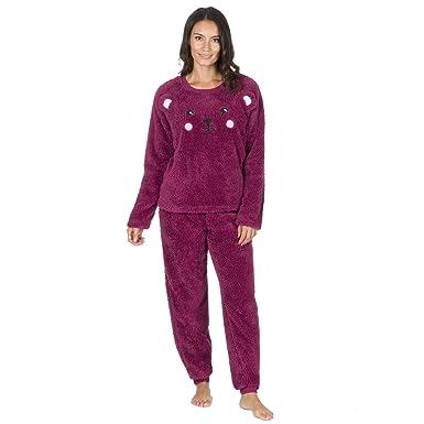 8b8c91ee042a31 Forever Dreaming Kuschel-Schlafanzug, Fleece, Zweiteiler Gr. S, Berry Bear