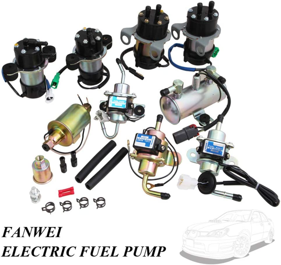 Elektrische 12V Niederdruck-Kraftstoffpumpe UC-V4 15100-85501 15100-79100 15100-79101 f/ür Suzuki SUPER CARRY Mitsubishi